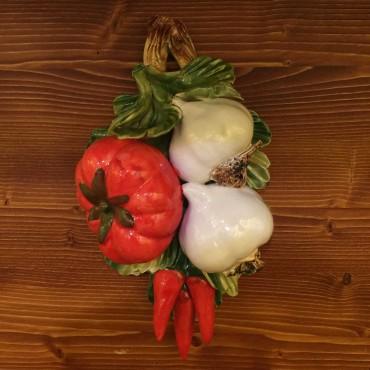 Tralcio Pomodoro Aglio Peperoncini