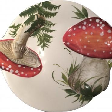 Piatto Fungi Rossi