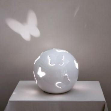 Lampada Sfera Farfalle Ali Aperte