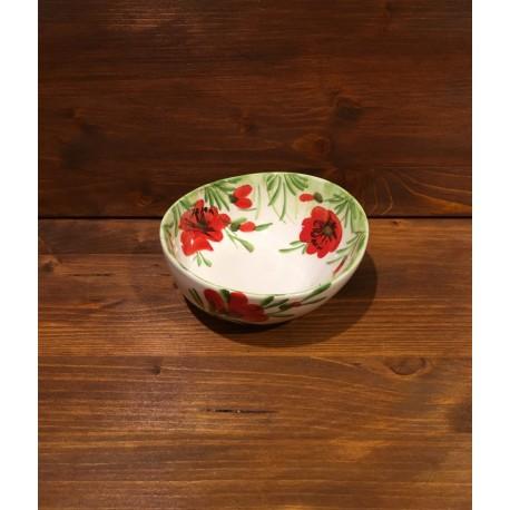 Kleine Schüssel Giada Mohnblumen - Garda Ceramiche