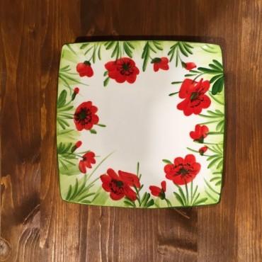 Dish Nevi Poppyflowers