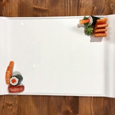 Rechteckiges Tablett Sushi