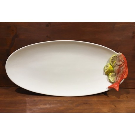 Dish Oval Mullet