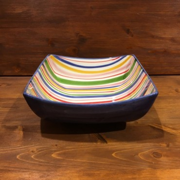 Small Bowl Nevi Riga Red-Yellow-blue-Green
