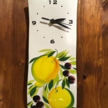 Orologio Muro Limone e Olive