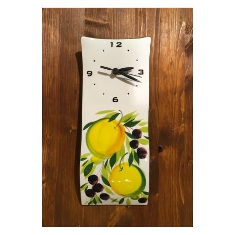 Wandhur Zitrone und Oliven