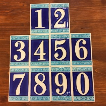 House Numbers H 11 CM Fluorescent