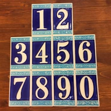 Numeri Civici H 11 CM Fluorescenti