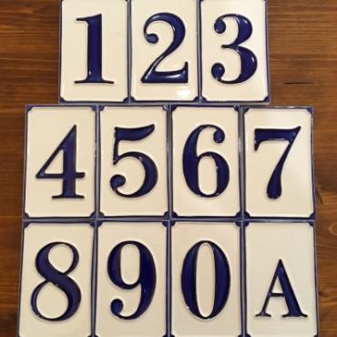 Hausnummer H 11 CM