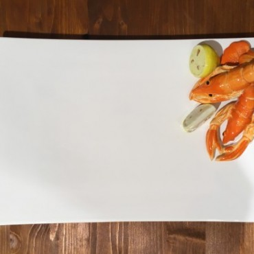 Dish Rectangle Scampi
