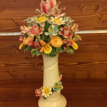Cake stand, Mixed flowers