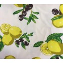 Tovaglia in Cotone Limoni e Olive