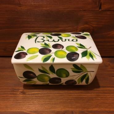 Butterhalter Oliven