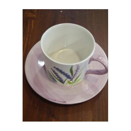 Tazza Mug Caffè Cappuccino Tè Lavanda Set