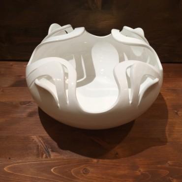 Quadrifoglio Intaglio Vase
