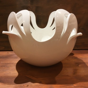 Vase Kugel Intaglio Quadrifoglio