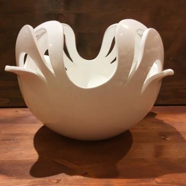 Vase Sphere Intaglio Quadrifoglio