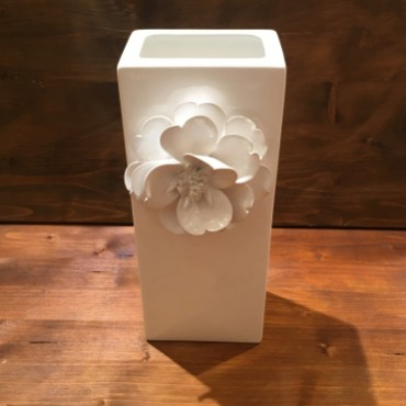 Vase with flower Rectangular P