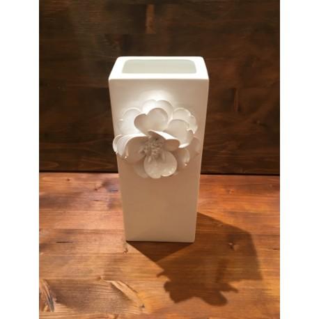 Vaso Rettangolare con Fiore P