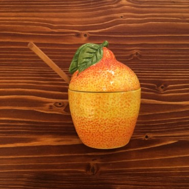 Orange Jar