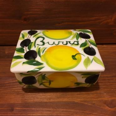 Butter holder Lemons and Olives