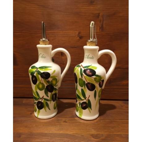 Oil - Vinegar with handles Ol.