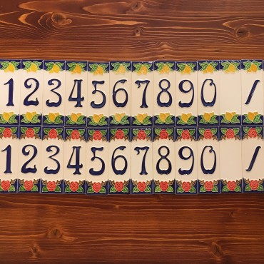 Numeri Civici H 10 CM