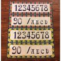 Numeri Civici H 15 CM