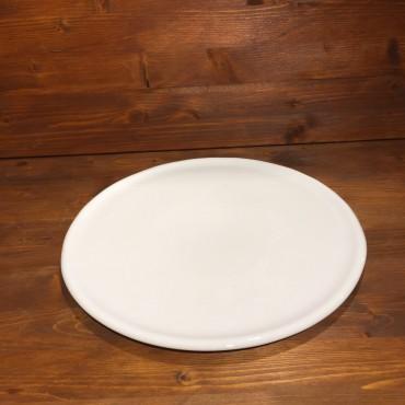 Piatto Pizza da Forno Bianco