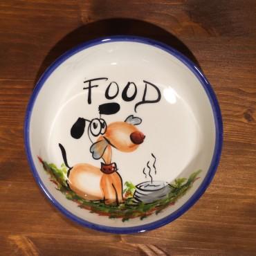 Lebensmittel Hund Schüssel