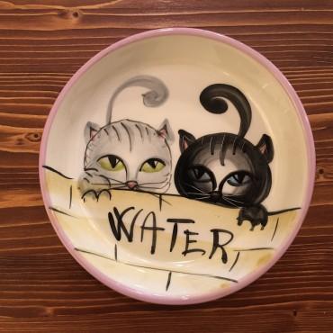 Wasser Katzen Schüssel