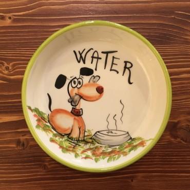 Wasser Hund Schüssel