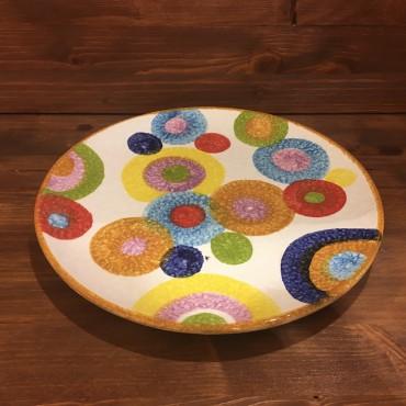 Runde Teller Farbige Kreise