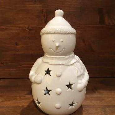 Pupazzo di neve ( con berretto )