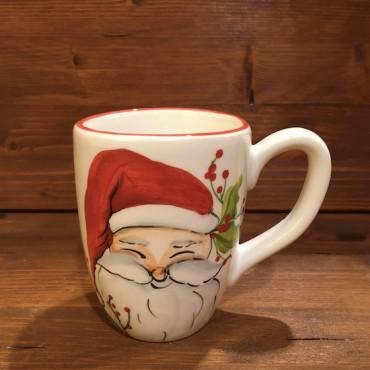 Tazza Mug Caffè Cappuccino Tè Babbo Natale