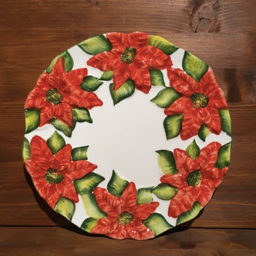 Plate christmas star