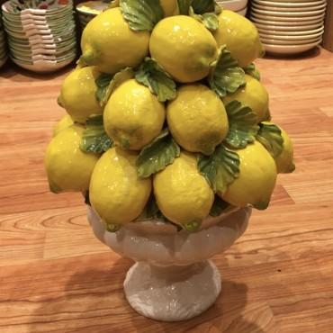 Alzata Grande Pigna Limoni