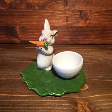 Kaninchen Eierbecher