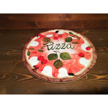 Pizza plate Ø 32 CM Relief