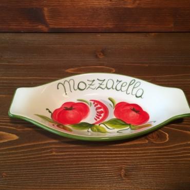 Piatto ovale c/m Mozzarella P.