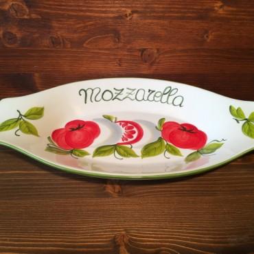 Piatto ovale c/m Mozzarella G.