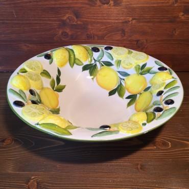 Ciotola Limoni e Olive Rilievo