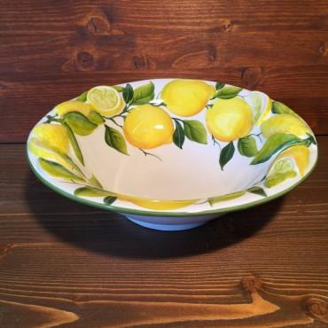 Ciotola Limoni Rilievo