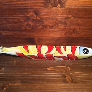 Flammenfisch-Lanzenplatte