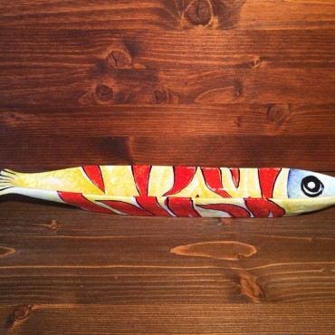 Piatto Lancia Pesce Fiamma