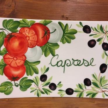 Piatto rettangolo Caprese