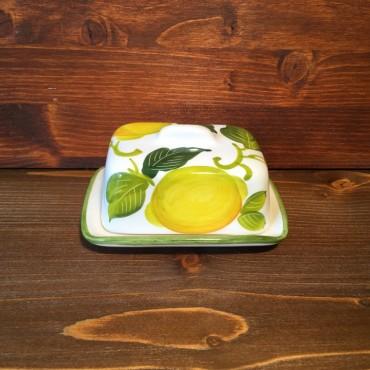 Butter Dish Lemon