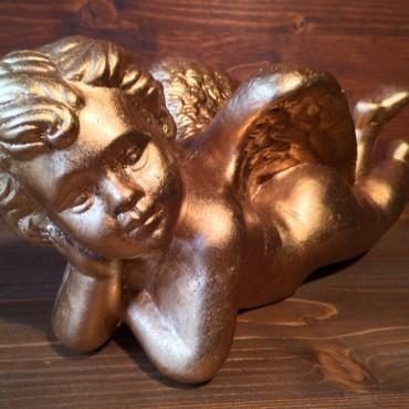 Angel lying down