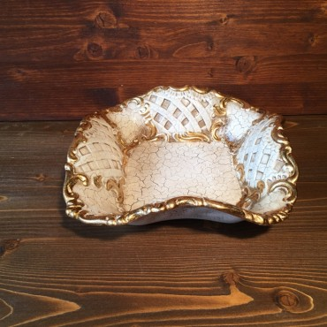 Venetian lacquered centerpiece