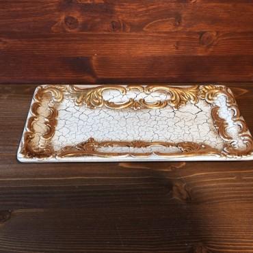 Venezianisch lackiertes Tablett